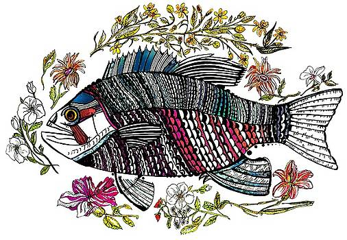 Lydia L Kramer - Fish and Flowers