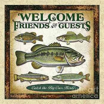 Jon Wright - Fish Art Welcome Panel