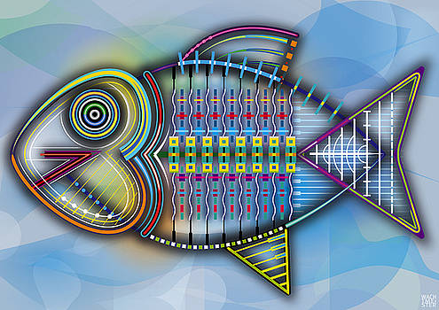 Fish Constructed by Bernd Wachtmeister