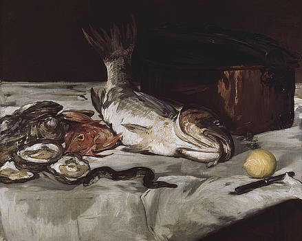 Fish  by Edouard Manet