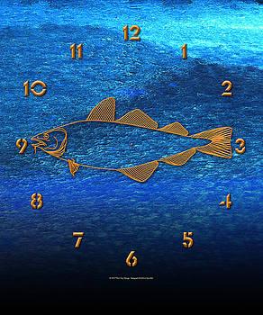 Fish Face 3 by Paul Gaj