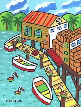 Fish House-Cedar Key by Mike Segal