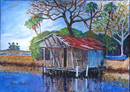 Fish House on the Suwannee by Bill Roberts