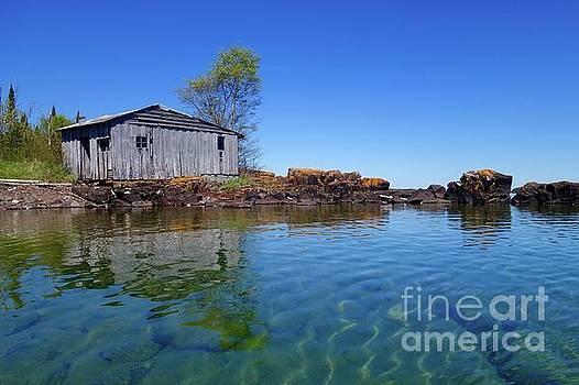 Fish House Reflections by Sandra Updyke