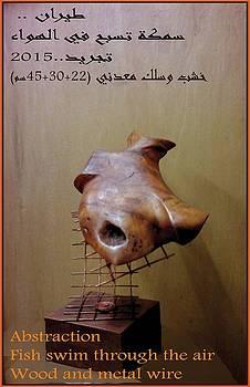Fish in the air by Ghazi Aana