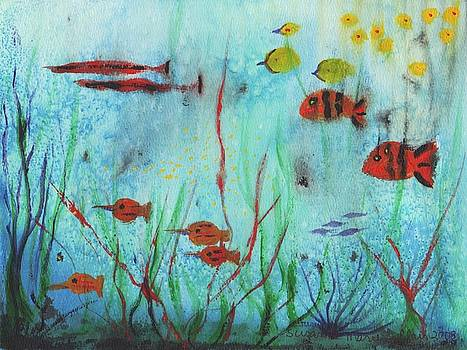 Suzanne  Marie Leclair - Fish in Water