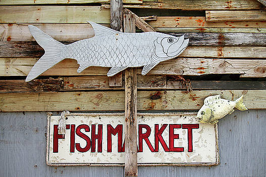 Fish Market by Art Block Collections