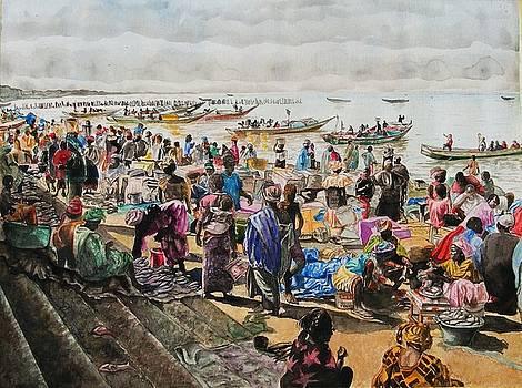 fish market By the sea shore by Ciocan Tudor-cosmin