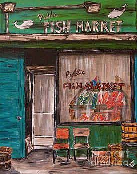 Fish Market by Susan Cliett