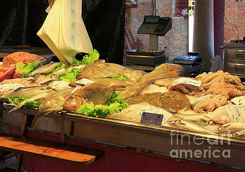 Fish Market, Venice, Italy by Louise Heusinkveld