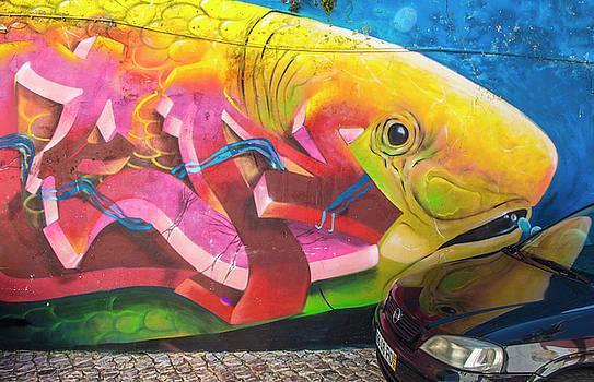 Venetia Featherstone-Witty - Fish Mural in Lisbon