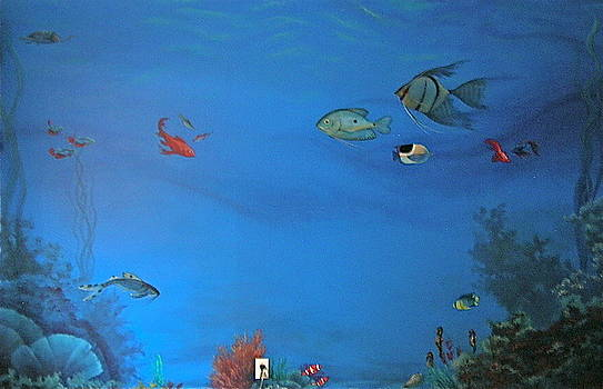 Fish Mural by Michael Ryan