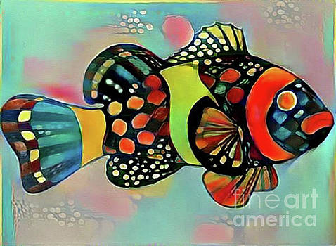 Fish Print Two by Nina Silver