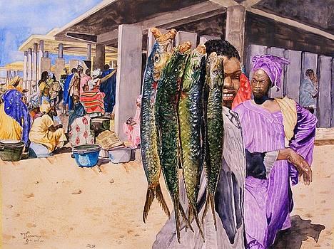 Fish salesman by Ciocan Tudor-cosmin