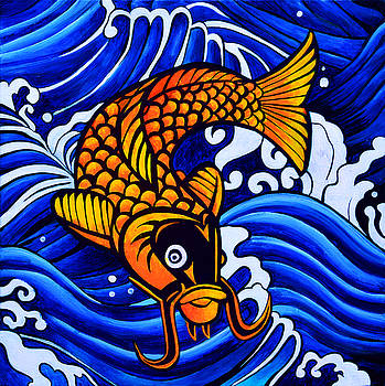 Fish Symbol by Stephen Humphries
