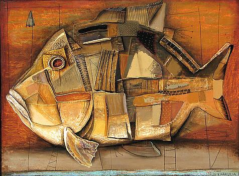 Fish by Vakho Kakulia