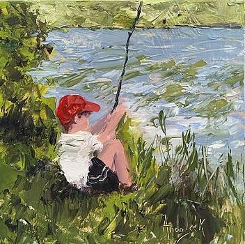 Fisher Boy by Barbara Andolsek