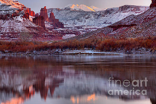 Adam Jewell - Fisher Towers Fading Sunset