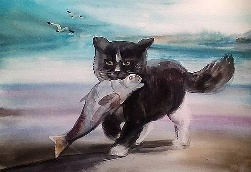 Fisher by Valeriya Temnenko