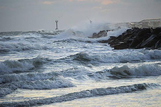 Fisherman at the jetty 11-23-15 by Julianne Felton