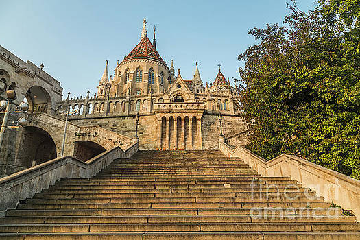 Fisherman's Bastion, Budapest by Travel and Destinations - By Mike Clegg