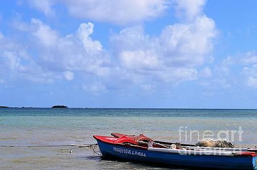 Fisherman's Boat St. Thomas by Angeline Jackson