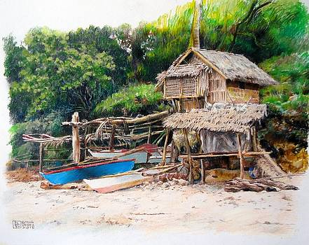 Fisherman's Hut by Bong Perez
