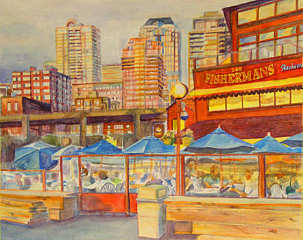 Fishermans Restaurant by Marty Smith