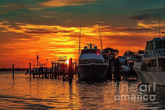 Fisherman's Sunrise by Edie Ann Mendenhall