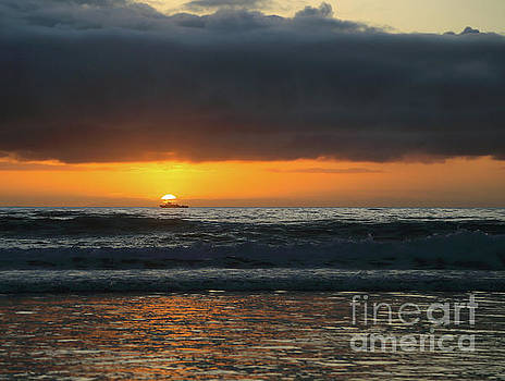 Fisherman's Sunset by E Williams
