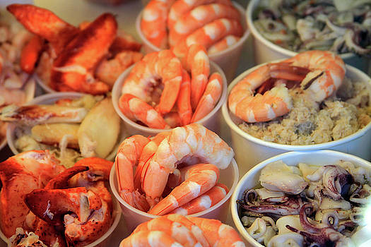 Fishermans Wharf Seafood Delights by Bonnie Follett