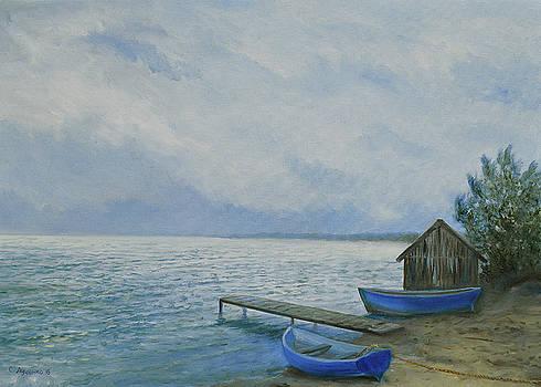 Fisherman's wharf by Sergey Lutsenko