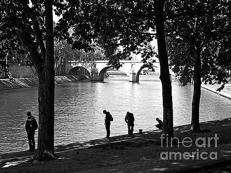 Fishermen of the River Seine by Alex Cassels