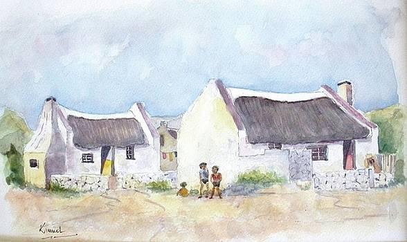 Fishermen's Cottages Arniston by Harold Kimmel