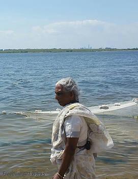 Fisherwoman by Greg Roberson