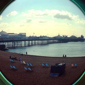 #fisheye #brighton #pier #seafront by Natalie Anne