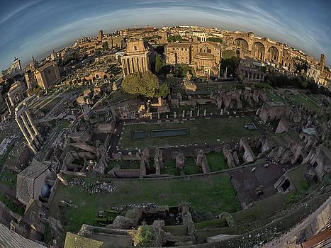 Stephen Barrie - Fisheye on high - The Roman Forum
