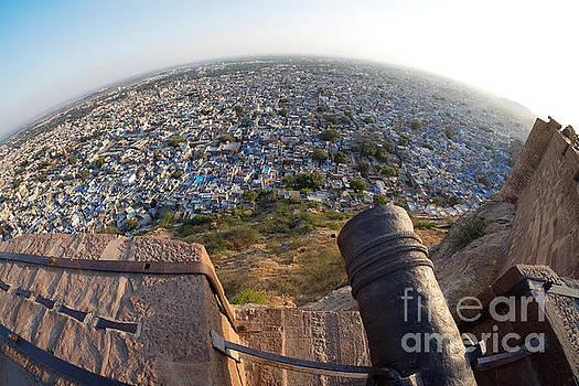 Fisheye View of Jodhpur by Yew Kwang