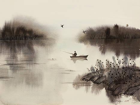 Fishing-3 by Khromykh Natalia