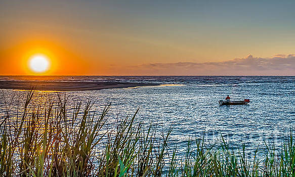 Fishing at Pawleys by Mike Covington