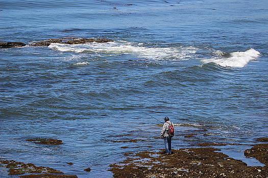 Gary Canant - Fishing at Shell Beach