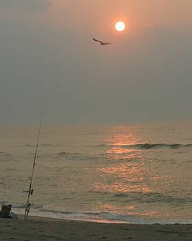 Fishing at Sunrise by Carla Neufeld