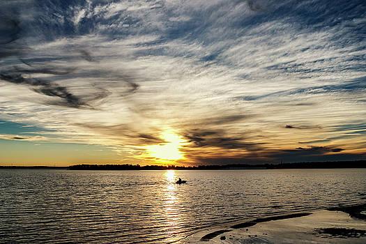 Fishing at Sunset by Doug Long