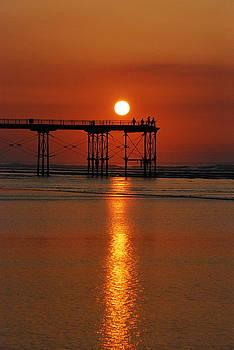 Doug Thwaites - Fishing at Sunset