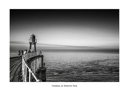 Fishing at Whitby Pier by Phil Fiddyment