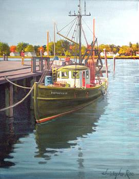 SOLD-Fishing Boat - Warren by Christopher Roe