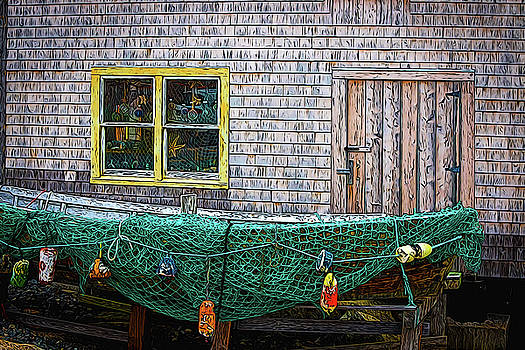 Fishing Boat by Andre Faubert
