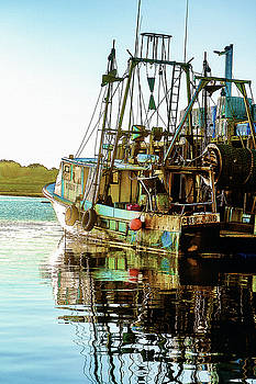 Fishing Boat Blues by Carol Sutherland