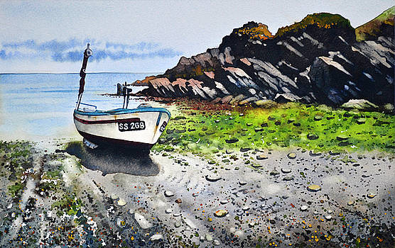 Fishing Boat Cadgwith by Paul Dene Marlor