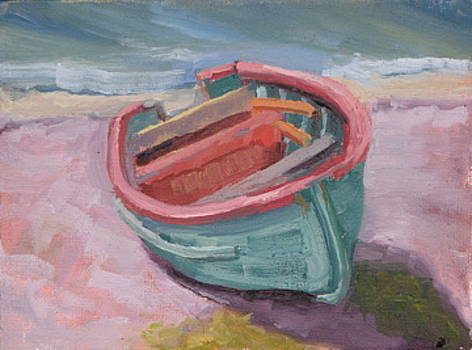 Fishing Boat by Cynthia Vowell